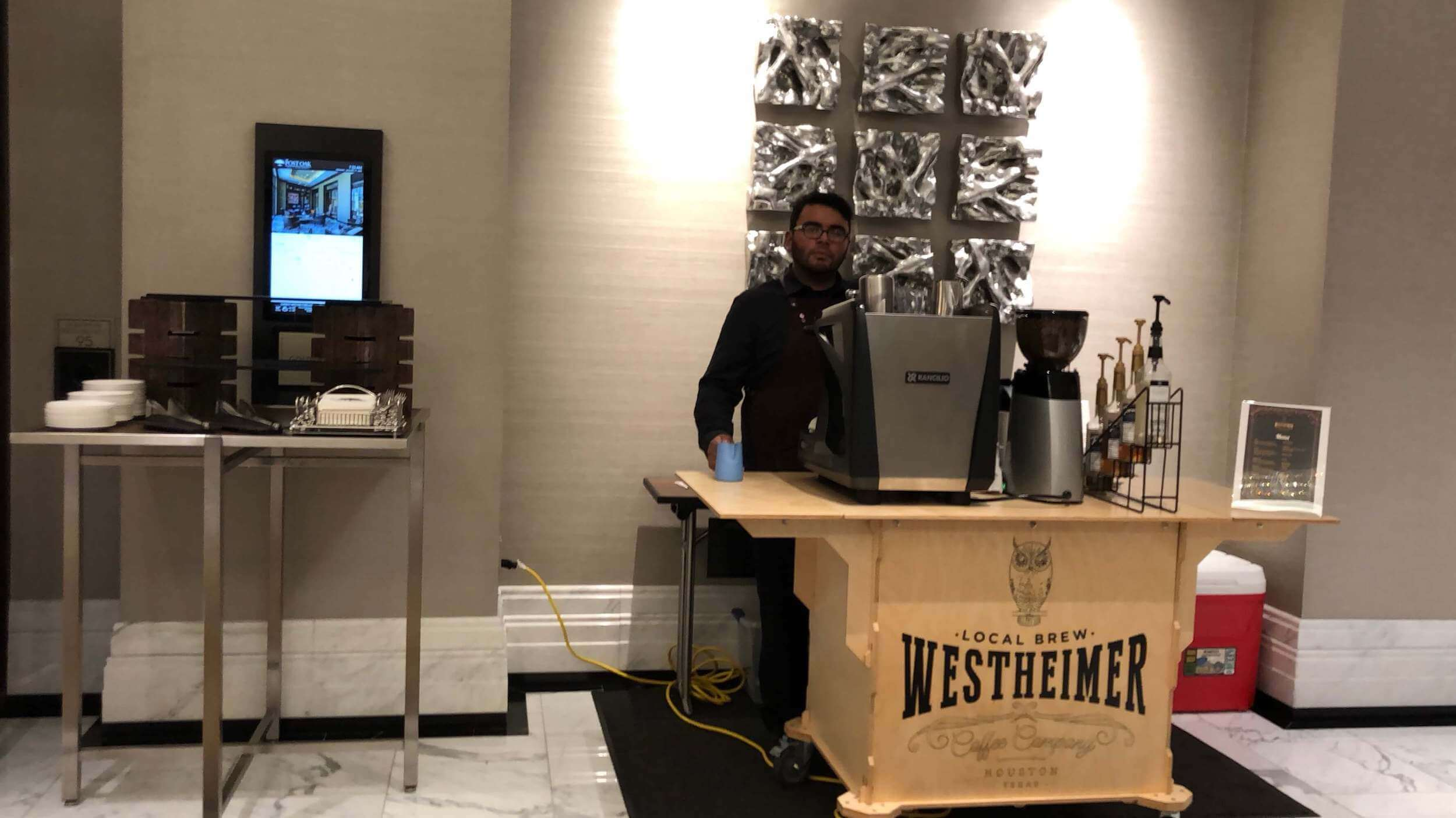 Espresso catering post oak hotel main