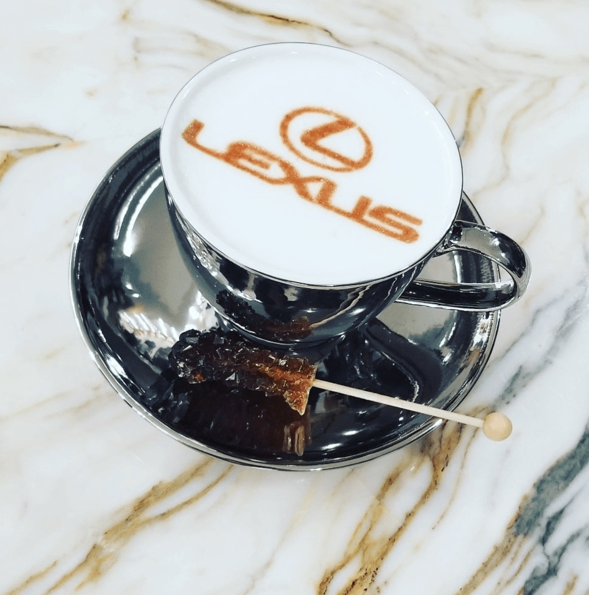 Westheimer Coffee Catering Lexus Latte Art
