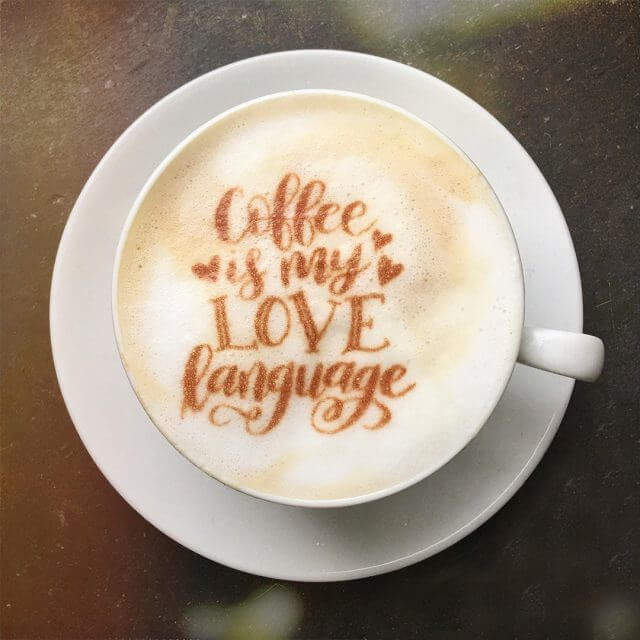 Wedding Coffee Catering Love Language